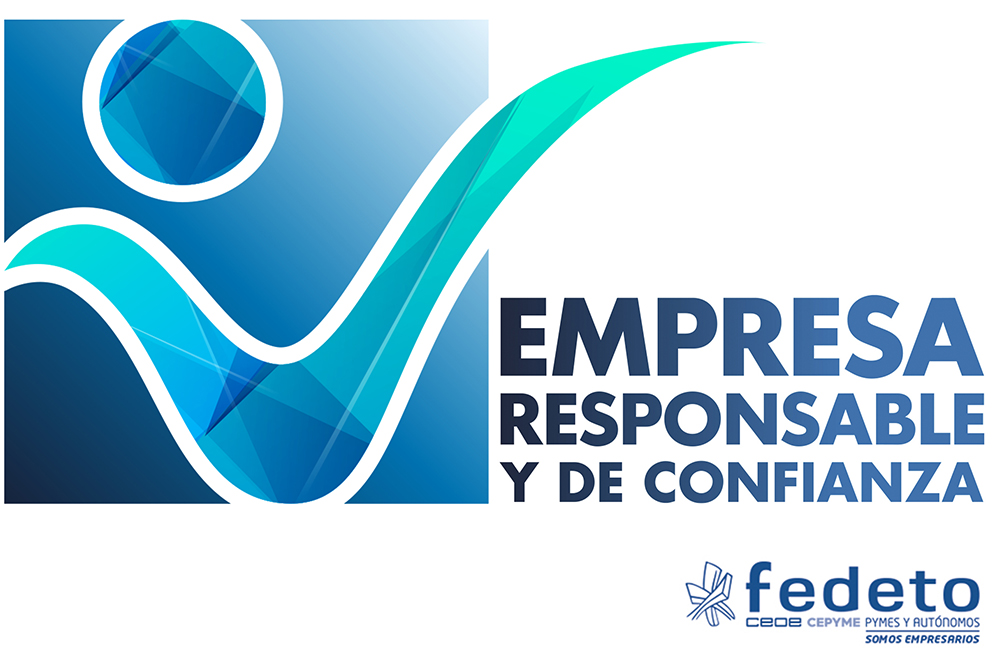 Empresa Responsable y de Confianza: consigue tu sello