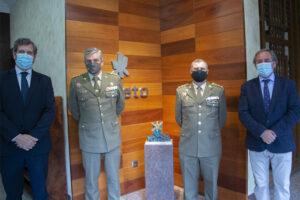 Relevo en la Delegación del Ministerio de Defensa en Castilla-La Mancha