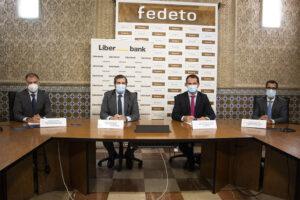 60 millones para las empresas toledanas y apoyo a la Oficina de Asesoramiento a Emprendedores gracias al acuerdo entre Fedeto y Liberbank