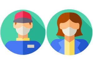Criterios sobre el uso de mascarillas en el ámbito laboral