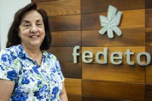 Milagros Aguirre Morales se jubila tras 43 años en Fedeto
