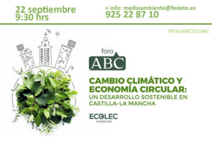Foro Abc Cambio Climático y Economía Circular